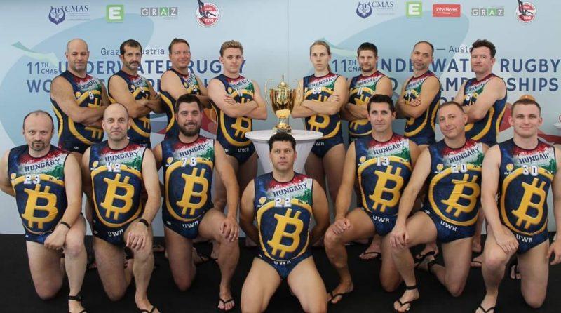 Bitcoin UWB - underwater rugby team