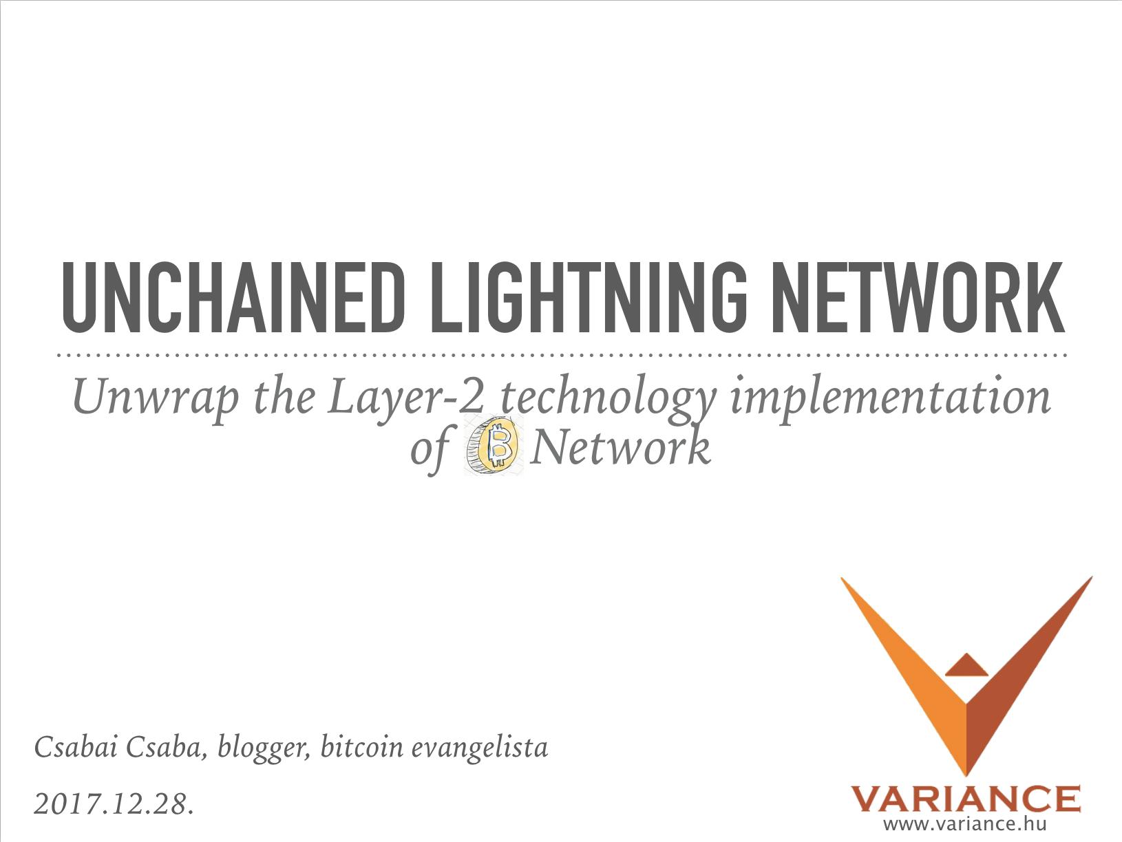 Beszélgessünk még egy kicsit a Lightning Networkről...