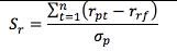 NumPy (Python) és a Sharpe ratio barátsága
