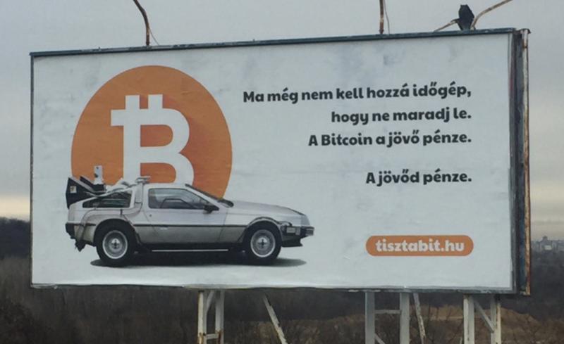 Ma még nem kell hozzá időgép, hogy ne maradj le. A bitcoin a jövő pénze. A jövőd pénze.