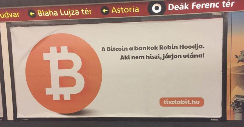 A Bitcoin a bankok Robin Hoodja. Aki nem hiszi, járjon utána!