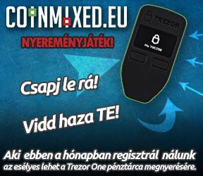 Coinmixed.eu trezor one nyereményjáték!